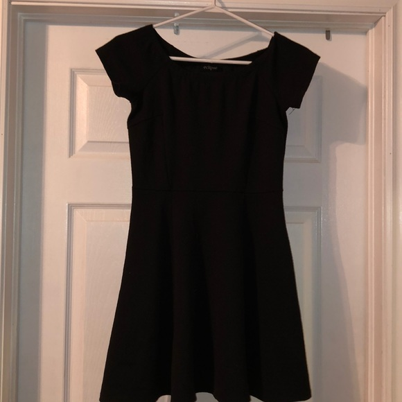 eclipse Dresses & Skirts - Simple black dress, peplum style